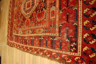 Antiker Ersari Teppich Rug Tappeto Tapis Ca: 307x153cm Bild