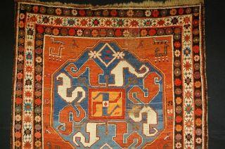 Antiker Kasak Fahrola Kazak Antique Kazak Ca: 206x130cm SammlerstÜck Bild