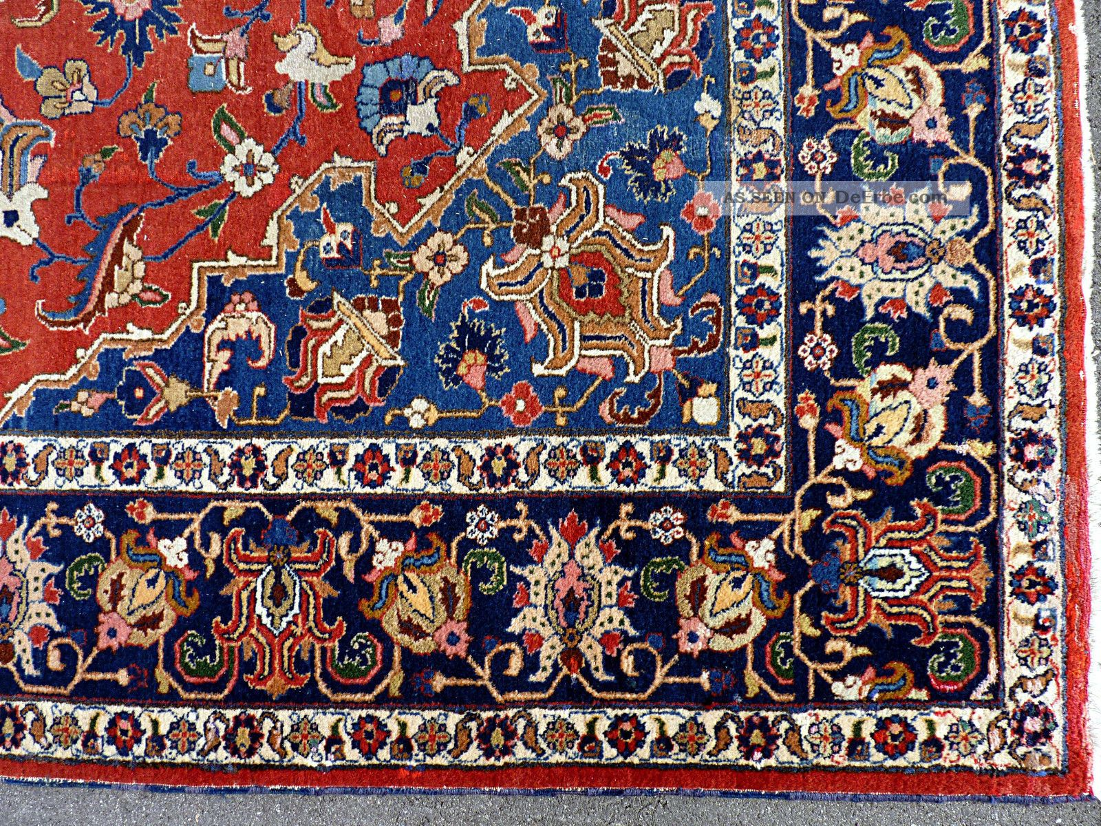 orient teppich perserteppich oriental rug tapis persan ca 370x270 12 2 39 x8 8. Black Bedroom Furniture Sets. Home Design Ideas