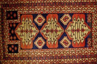 Gebetsbelutsch Ca: 145x92cm Prayer Rug Old Tappeto Bild