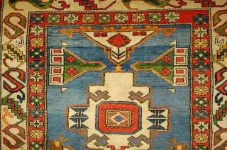 Wunderschöner Kars Kasak Teppich Old Rug Tappeto Ca: 215x150cm Bild