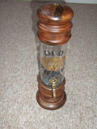 Whisky - Spender - Old Whisky Flasche Mit Zapfhahn Aus Messing Schönes Stück Bild