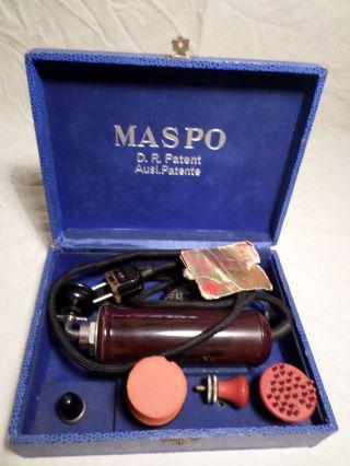 Maspo - D.  R.  Patent Ausl.  Patent - Massage Elektro - 1956 Bild