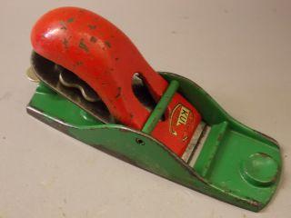 Kleiner Hobel Mit Messer Aus Metall Von Kunz Altes Werkzeug Schabhobel Putzhobel Bild