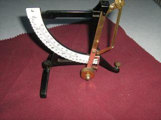 Alte Antike Briefwaage,  J M