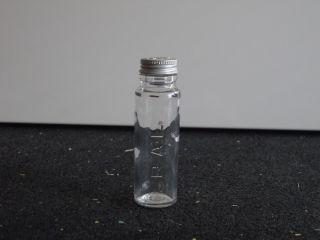 Kleines Altes Apothekenglas Klar - - - -