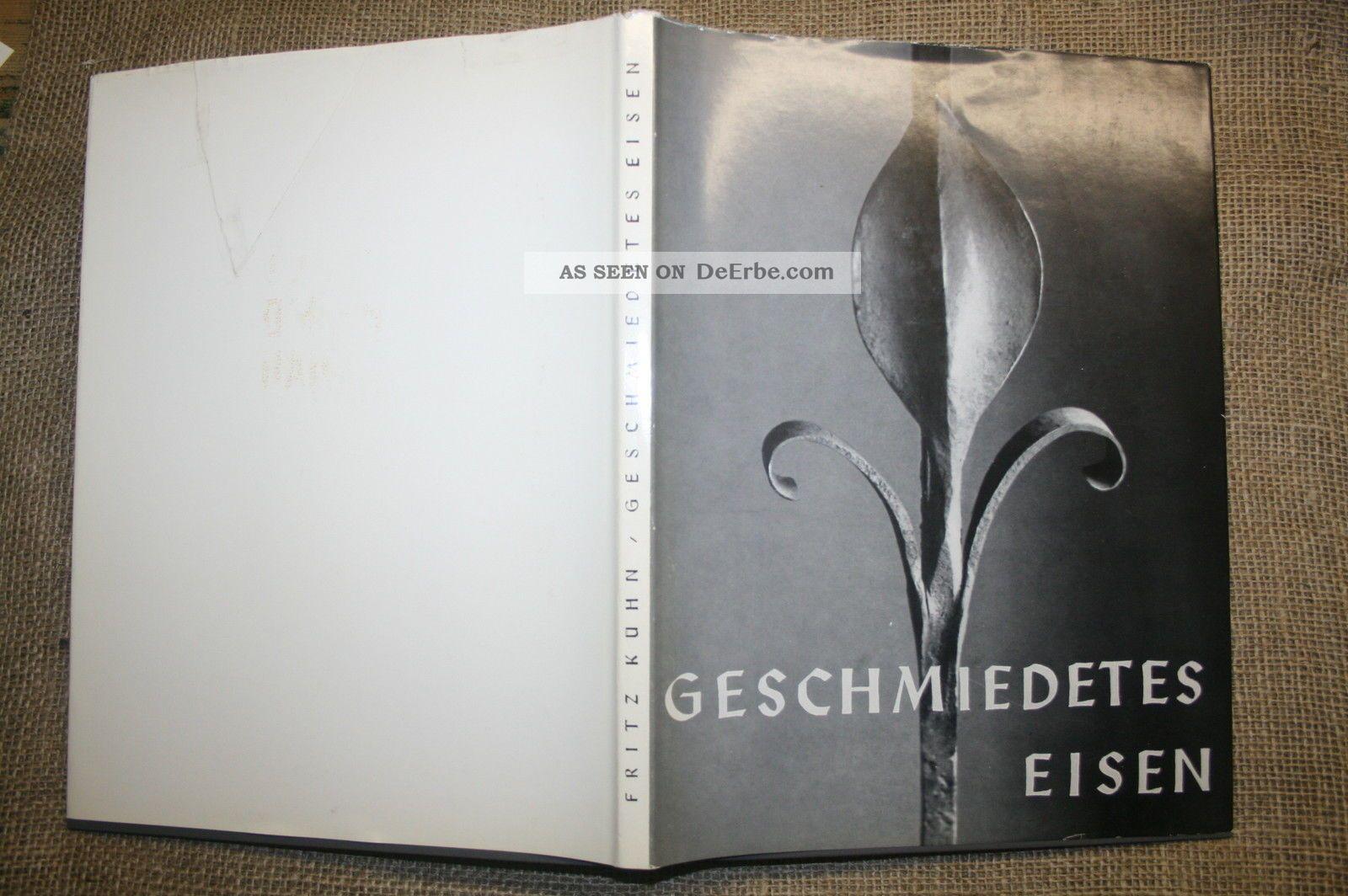 Fritz Kühn,  Kunstschmied,  Metallarbeiten,  Tore,  Gitter,  Zäune,  Bildband 1963 Alte Berufe Bild