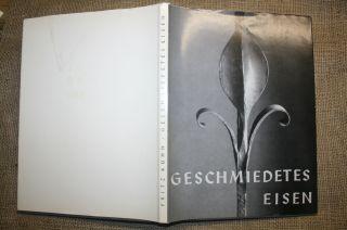 Fritz Kühn,  Kunstschmied,  Metallarbeiten,  Tore,  Gitter,  Zäune,  Bildband 1963 Bild
