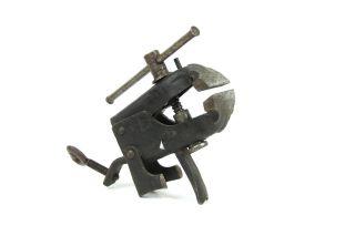 Alter Bonum Klemmschraubstock Reichspatent Schraubstock Klemmschraube Werkzeug Bild