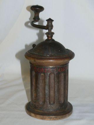 Apotheke Antik,  Mutterkornmühle Secale Cornutum,  Um 1790 Bild