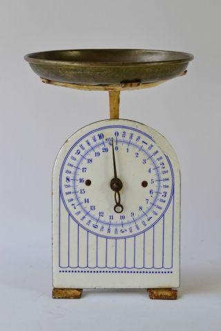 Tischwaage 10kg Kitchen Scales Enamel Básculas De Cocina Balanza De Cocina Bild