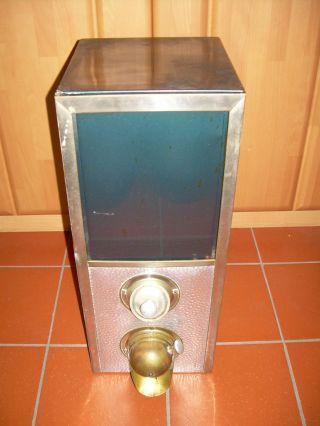 Kaffeeschütte Kaffeespender Kaffeebohnenbehälter Vintage Bild