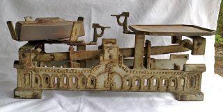 Alte Antike 5 Kg Krups Waage Krämerwaage Küchenwaage Balkenwaage 1926 Jugendstil Bild