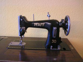 Antik Pfaff 30 Pedal - Nähmaschine Versenkbar 50er Jahre Rar - Zubehör Bild