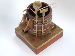 Historischer Sudkessel - Bier Braukessel Miniatur - SammlerstÜck 13x13cm Bild