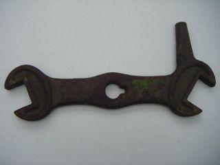 Antiker Seltener Maulschlüssel,  Griff,  P 9,  Grün,  Oldtimer,  Bulldog,  21,  28 Mm Bild