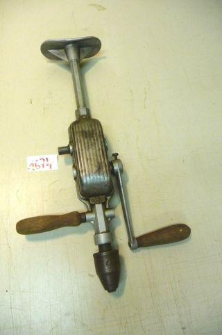 Nr.  1674.  Alte Handbohrer Handbohrmaschine Bohrgerät Bohrmaschine Bild