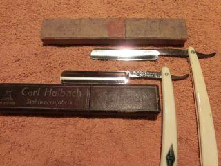 2 Rasiermesser Von Puma Und Carl Halbach Solingen Bild