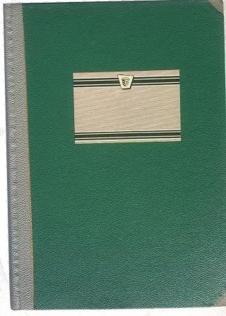 Kassenbuch,  288 S.  Nummeriert Und Liniert,  A - Z - Register,  Unbenutzt Ca.  1950, Bild