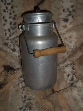Milchkanne - Aluminium - Sehr Alt - Rar Bild