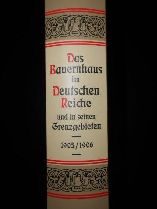 Fachwerk Buch Reprint 1905 Zimmermann Zimmerei Zimmerer Bauernhaus Im Reich Bild