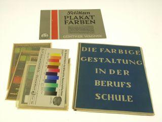 Cossmann,  Hermann.  Die Farbige Gestaltung In Der Berufsschule. Bild