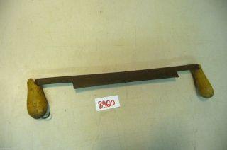 Nr.  8960.  Altes Werkzeug Schäleisen Ziehmesser Bild