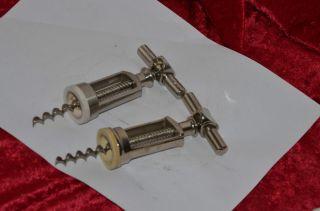 2 X Korkenzieher Weinöffner Aus Metall 1 X Drgm Driezack Und 1 X Monopol Bild