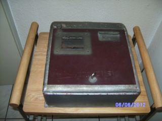 Sehr Alte Schreibkontrollkasse Von Mogler Bild