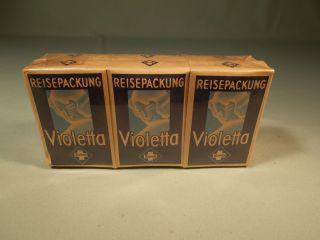 Alte Packung Violetta Reisepackung Von Suwa Damenhygiene Vor 1940 Bild