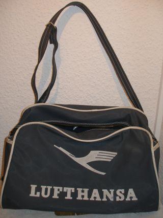 Alte Lufthansa Tasche Bild