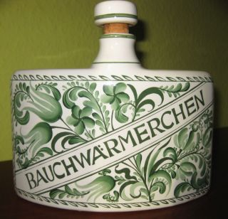 Bauchwärmerchen Apothekergefäß Aus Keramik Mit Deckel Marke Herr Fayence Bild