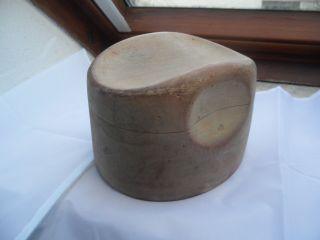 Alte Holzhutform Bild