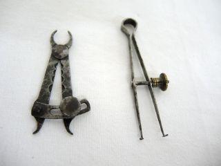 Werkzeug Goldschmiede Pinzette Maßwerkzeug Um 1880. Bild