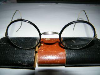 Art DÉco Hornbrille (nickelbrille) Um 1920 Bild