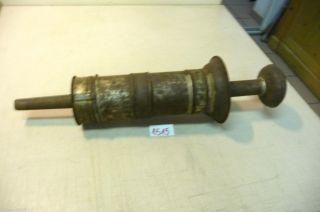 Nr.  1515.  Alte Wurstpresse Wurstfüller Wurstspritze Old Sausage Stuffer Bild