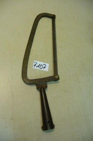 7107.  Altes Werkzeug Säge Bild