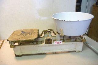 Nr.  9701.  Alte Waage Marktwaage 10 Kg Old Balance Scale Bild