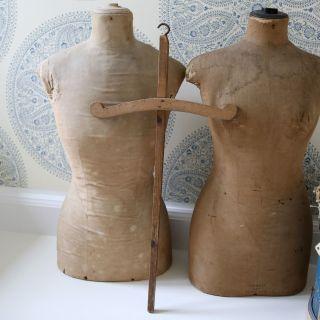 Wunderschöner Großer Antiker Kleiderbügel (1) Aus Frankreich,  Shabby Bild