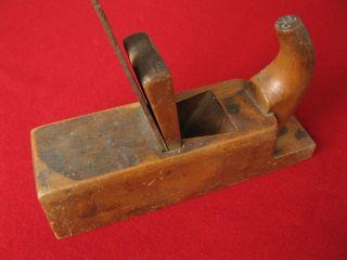 Zahnhobel Handhobel Gezahntes Eisen Von Kirschen Furnier Leimen Toothing Plane Bild