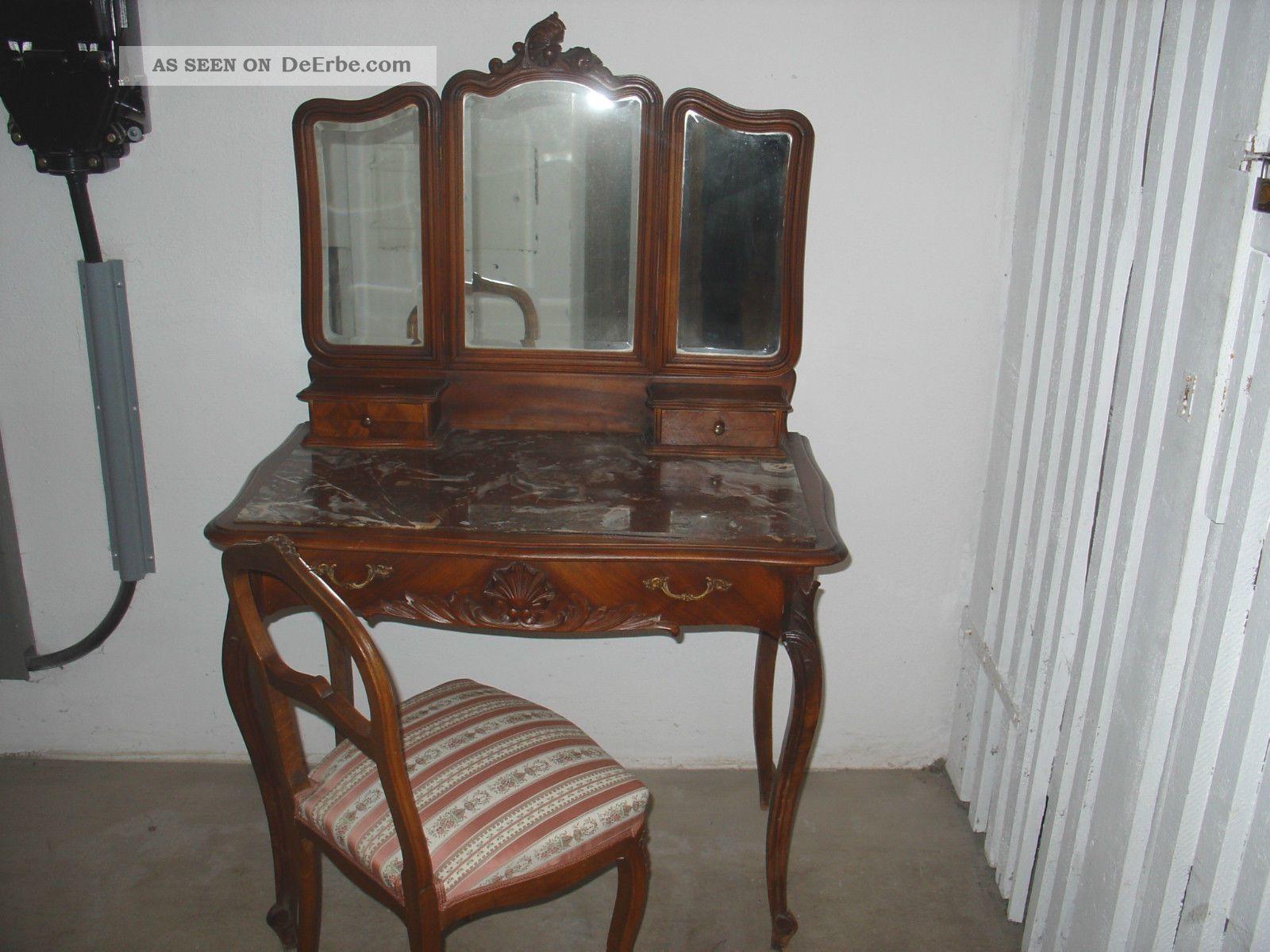 antike frisierkommode, spiegelkommode, wiener barockstil