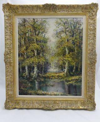 Ölgemälde Landschaftsbild Sign.  Ludwig Sohler Münchner Maler 60x50 Bild