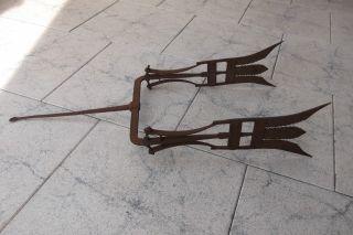 Antiker Aalstecher/fischstecher Doppelt Bild