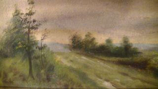 Schönes,  Altes Ölgemälde,  Landschaft,  Romantiker,  Antik Bild