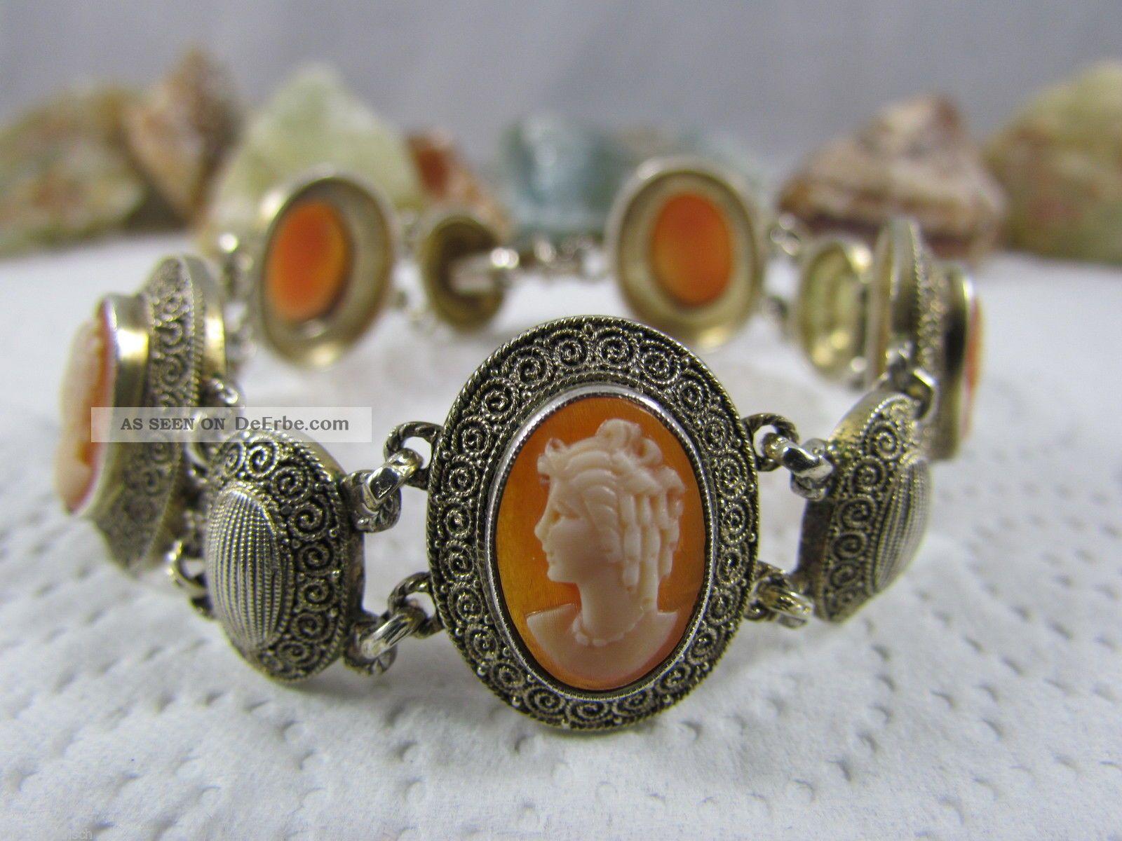 Dekoratives Armband 19cm Silber Und Türkise