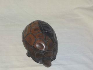 Schildkröte Schatulle - Schmuck Kästchen Aus Holz,  Mit 7 Bilder,  /ship Worldwide Bild