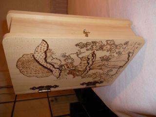 Holzschatulle Bild