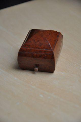 Alte Ring Dose Schmuckschatullen Bild