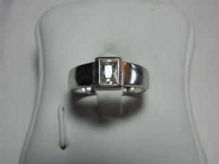 Art_deco 925er Silber Ring 1x Bergkristalle Design Bild