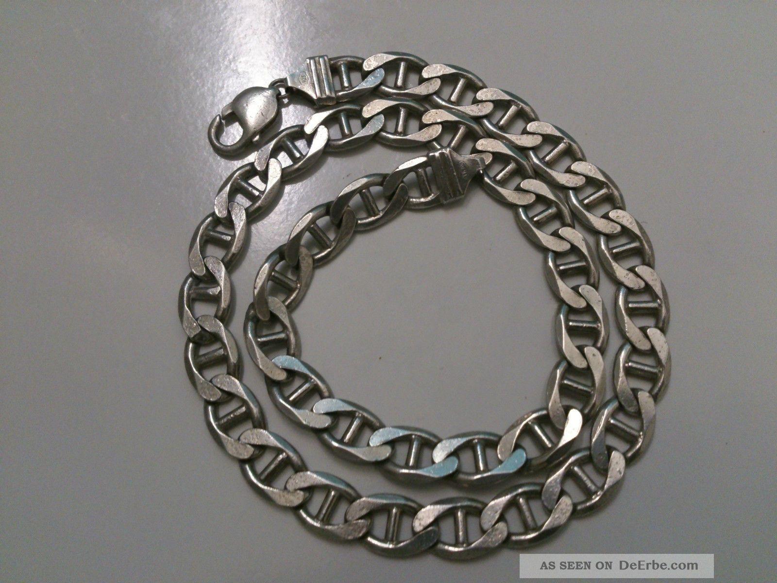925 Massive Dicke Silberkette/ Panzerkette 70gr
